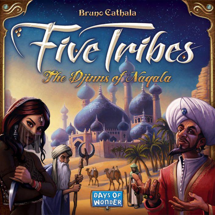معرفی نقد و بررسی بازی Five Tribes پنج طایفه یا پنج قبیله