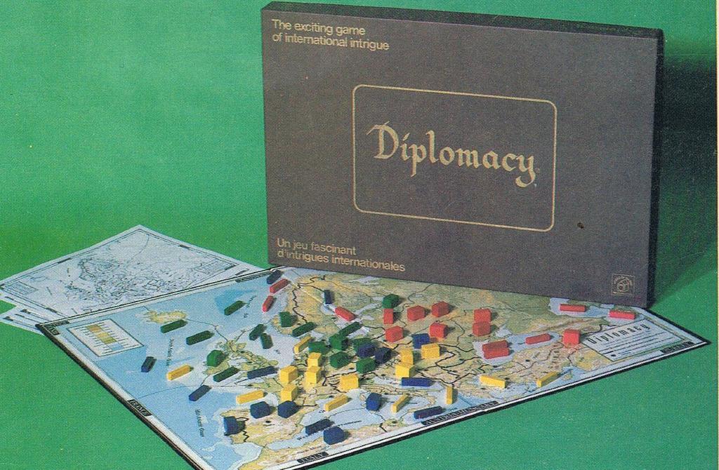 بازی رومیزی دیپلماسی