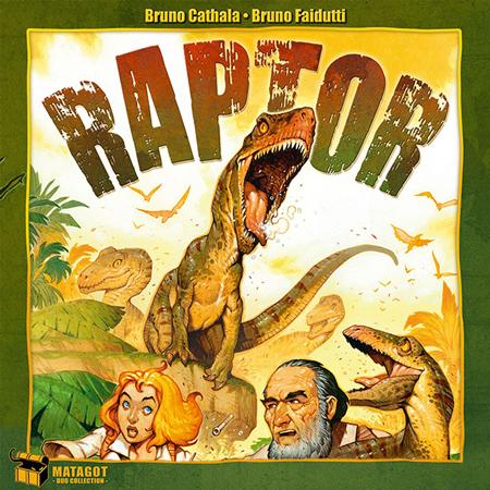 پوستر بازی رومیزی رپتور raptor