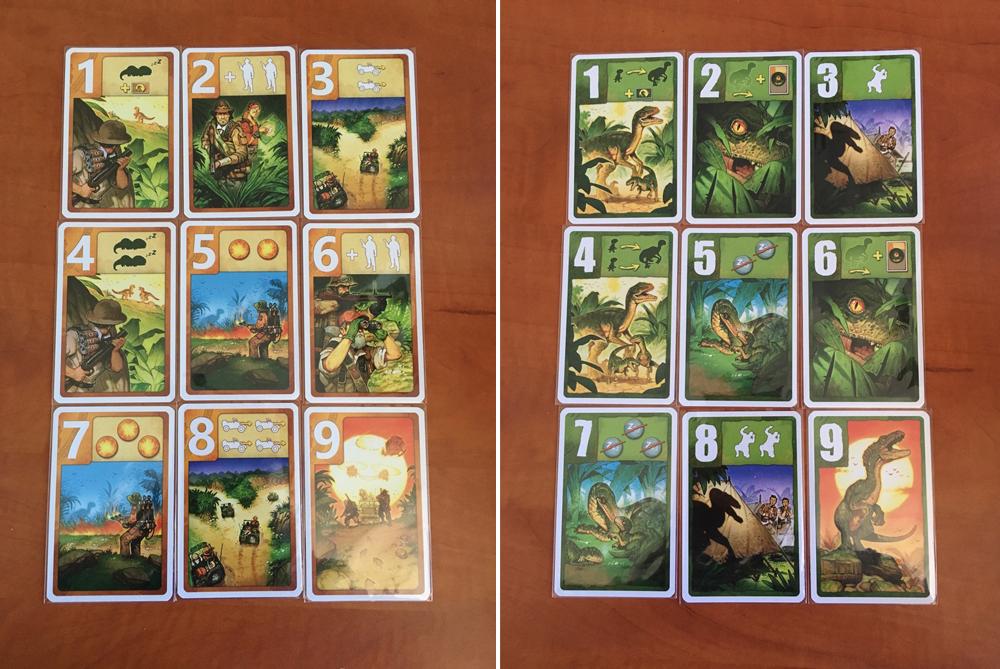 کارتهای بازی Raptor